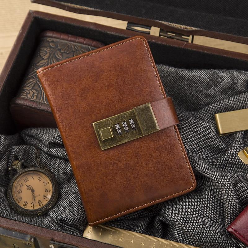 CAGIE vintage α7 σημειωματάριο καφέ / - Σημειωματάρια - Φωτογραφία 5