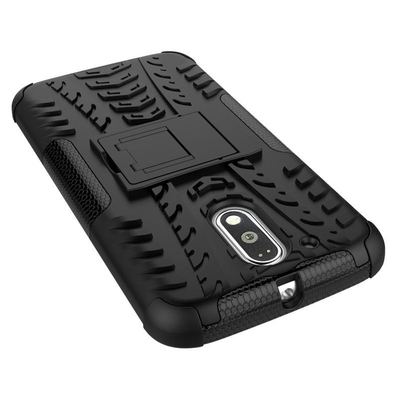 Nueva funda de teléfono antideslizante de doble capa con soporte - Accesorios y repuestos para celulares - foto 2