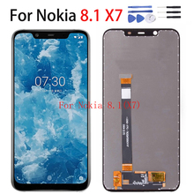 Original LCD Display For Nokia X7 8.1 N8.1 TA-1099 TA-1113 TA-1115 TA-1131 TA-1119 TA-1121 Panel Touch Screen Digitizer assembly