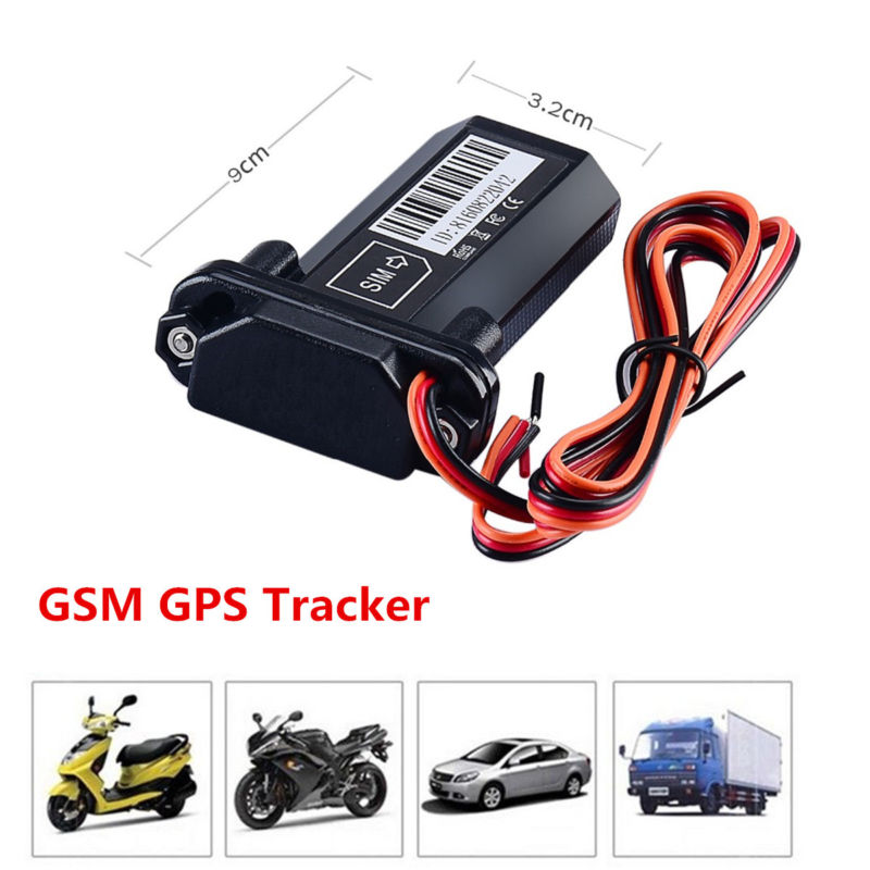 Car Vehicle Motorcycle GSM GPS Tracker Locator Global Real Time Tracking DeviceE