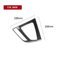 For BMWFashion sports carbon fiber new 2014 2015 2017 2018 new 3 series F30 3GTF34CD gear position panel modification accessorie