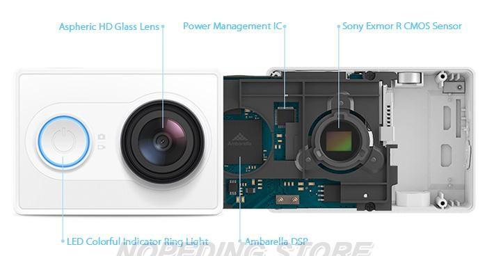 Xiaomi Xiaoyi WiFi Action Camera 16MP 60FPS Ambarella 184850 16