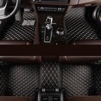 kalaisike Custom car floor mats for BMW all model 535 530 X3 X1 X4 X5 X6 Z4 525 520 f30 f10 e46 e90 e60 e39 e84 e83 car styling