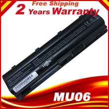 MU06 аккумуляторная батареядля ноутбука hp 430 431 435 630 631 635 636 650 Тетрадь ПК MU06 593554-001 аккумулятор большой емкости