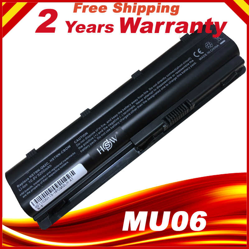 MU06 Laptop batterij voor HP 430 431 435 630 631 635 636 650 Notebook PC MU06 593554-001