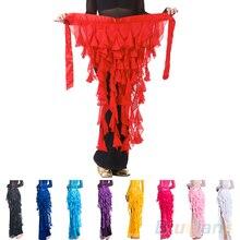 Hot Belly Dance Waistband Hip Scarf Dancewear Belt Wave Tassel Costume Waist Chain  22C5