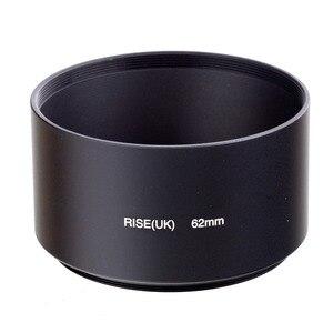 Image 4 - 49 мм 52 мм 55 мм 58 мм 62 мм 67 мм 72 мм 77 мм профессиональная металлическая бленда для телефото объектива для Nikon Canon Sony Fuji Olympus DSLR камеры