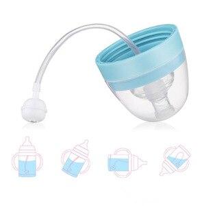 Image 4 - Tasse de paille pour enfants 450 ML 400 ML avec poignée biberon double usage Portable sangle corde dapprentissage tasses à boire Tritan sans BPA