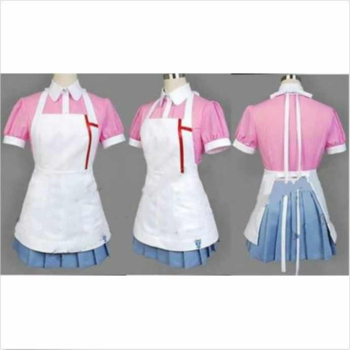 Dangan Ronpa 2 Mikan Tsumiki Danganronpa платье Косплей Костюм