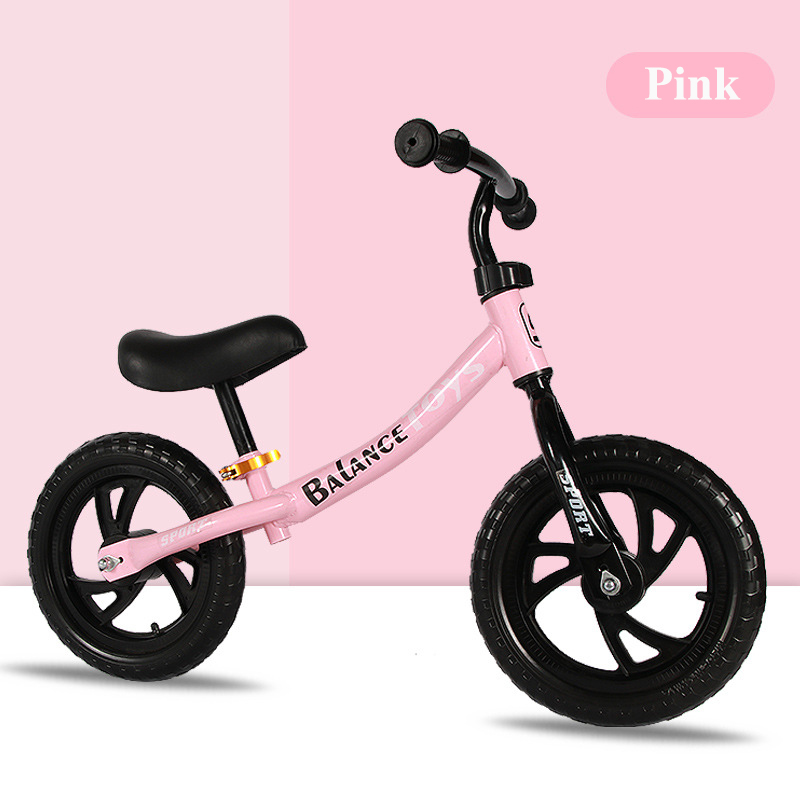12 pouces deux roues en métal enfants Balance vélo 3-8 ans sans pédale glisser Walker Sense pour les enfants monter sur des jouets - 6