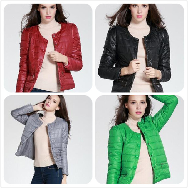 Bomber jacket women Colors Autumn & Winter Jacket Parka Filler Cotton