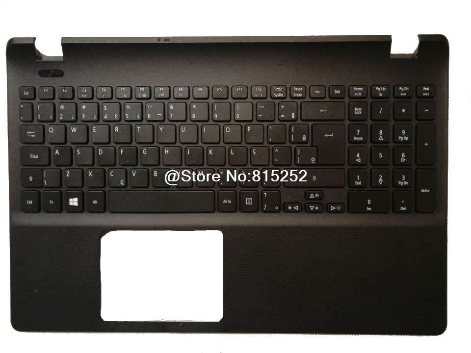 PalmRest&keyboard For ACER For Aspire ES1-512 ES1-531 ES1-571 Brazil BR English US United Kingdom UK Belgium BE Russian RU laptop keyboard cover for lenovo for thinkpad helix gen 2 folio 20cg 20ch spain sp english us belgium be danish dn france fr
