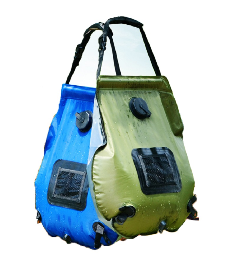 20l Waterproof Solar Shower Bag Outdoor Self Drive Camping Hot Water Portable Sun Bath Storage Bags In From Sports