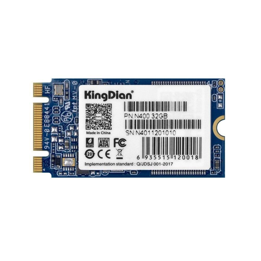 KingDian M.2 NGFF M.2 2242 2280 твердотельный диск для настольных ПК и MacPro N400 32 Гб 42 мм