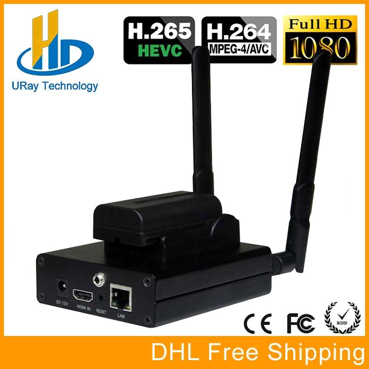 H 265 HDMI IP Streaming RTMP Encoder HEVC H.265 IPTV Encoder Transmitter For IP Video Audio Sreaming For Wowza Server FMS hd h 265 hevc avc 1u 4 channels hdmi dvb t encoder modulator for ip stream to vlc media server xtream codes