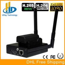 H 265 HDMI IP Streaming RTMP Encoder HEVC H.265 IPTV Encoder Transmitter For IP Video Audio Sreaming For Wowza Server FMS