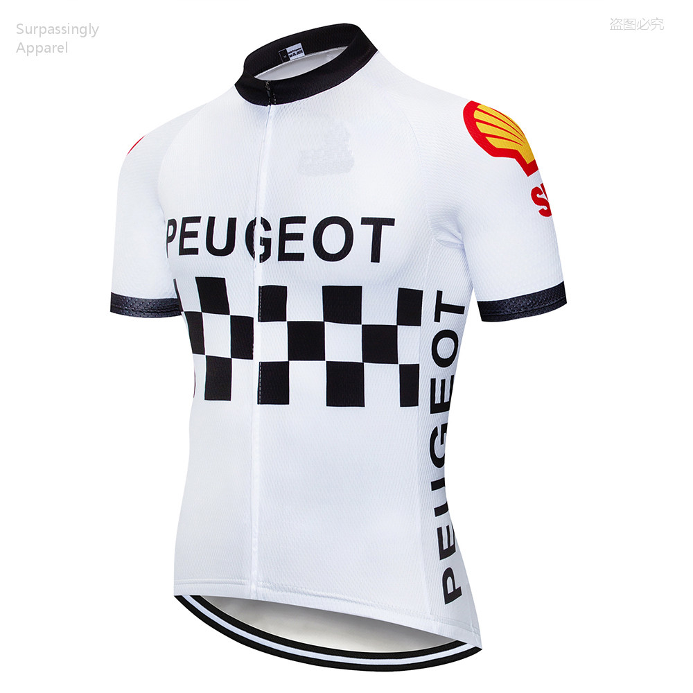 2019 Pro UCI TEAM White <font><b>Custom</b></font> Cycling <font><b>Jersey</b></font> Summer Ropa Ciclismo MTB Mens Summer Quick-dry Pro <font><b>Bike</b></font> <font><b>Jersey</b></font> Tops Maillot Shirts image
