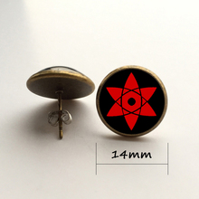 Naruto leaf village earrings (2 colors)