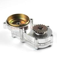 20 Teeth 47cc 49cc pocket bike liya front gearbox transmission gear box mini moto atv quad 2 stroke engine parts accessories