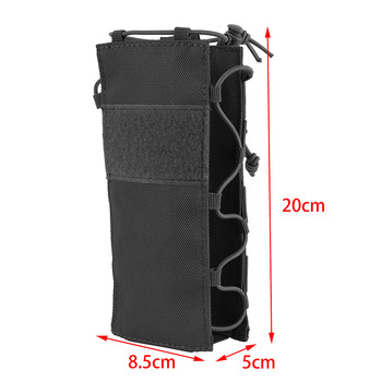 Tactical Water Bottle Pouch Outdoor Molle Military Water Bag Kettle Holder Accessory Bags Camping Hiking Travel Survival Kits 4