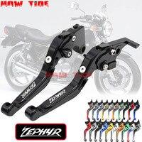 Adjustable Folding Extendable Motorcycle CNC Brake Clutch Levers For Kawasaki Zephyr 750 1991 1997 1992 1993 1994 1997