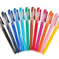 Qshoic 12 ألوان لكل صندوق 0.38 ملليمتر جديد محاصر تشينج hanfeng لون القلم القلم شعبية في اليابان وكوريا الطلاب القرطاسية