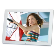 New 15 Inches LED Screen HD 1280*800 Digital Photo Frame Electronic Album Picture Music Mp3 Video Mp4 Porta Retrato Digital