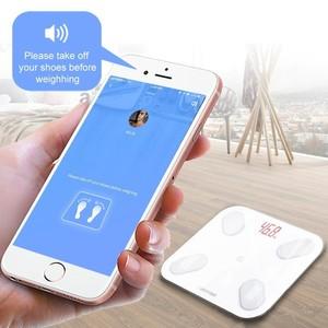 Image 4 - GASON S4 LED גוף מאזני אמבטיה רצפת מדעי חכם אלקטרוני דיגיטלי שומן משקל מאזן ביתי Bluetooth APP אנדרואיד