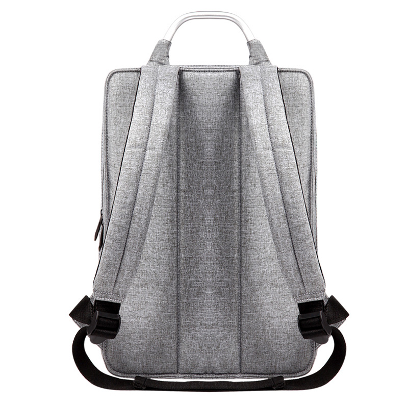 Image 3 - Slim Laptop Backpack Women/Men 14 inch Office Work Student Backpack Business Bag Unisex School Bag Ultralight Thin Back Pack-in Backpacks from Luggage & Bags