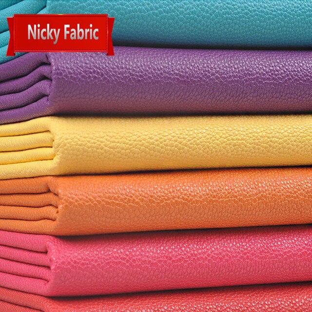 Tecidos de Couro PU Falso Espessamento Eco friendly Sofá de Couro Artificial De Couro para Material de Costura Acessórios De Couro Da Pele