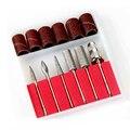 Nail Tools 1set Professional 6pcs Nail Drill Kit Bits file For Electric Drills & Filling System Nail Art Tools