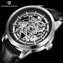 цена PAGANI DESIGN Watch Men Skeleton Automatic Mechanical Watch Skeleton Vintage Man Watches Mens Business Watch Top Brand Luxury онлайн в 2017 году
