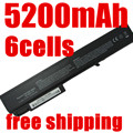LAPTOP battery for hp EliteBook 8530p,8530w ,8540p,8540w,8730w,8740w,6545b KU533AA HSTNN-XB60 HSTNN-OB60 HSTNN-LB60