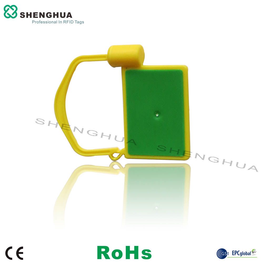 10pcs/pack Hot Sale 860~960MHz UHF Passive RFID Seal Lock Label Blank Label Stickers For RFID Logistics RFID Solutions