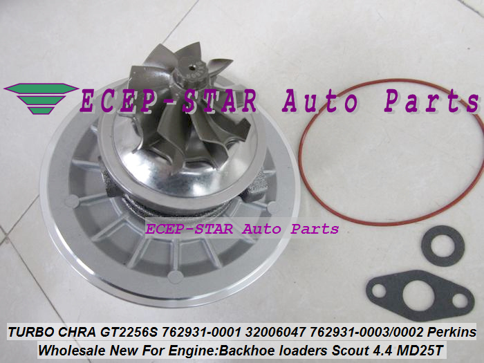 Turbo Cartridge CHRA GT2556S 762931 762931-5001S 762931-0001 Turbocharger For Perkin Backhoe loaders JBC Agricultural Scout 4.4L (5)
