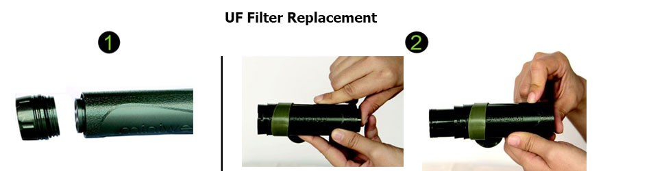 Utrafiltration filter