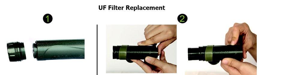 Utrafiltration filter