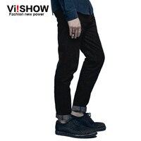 Viishow Famous Brand Fashion Designer Robin Jeans Men Pants Men Straight Blue Black Color Mens Jeans