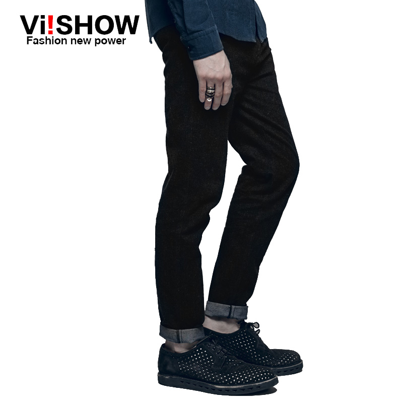 Viishow famous brand Designer robin Jeans Men  Straight Pants Blue Black Jeans Mens denim Jeans brand luxury Jeans homme 28-42