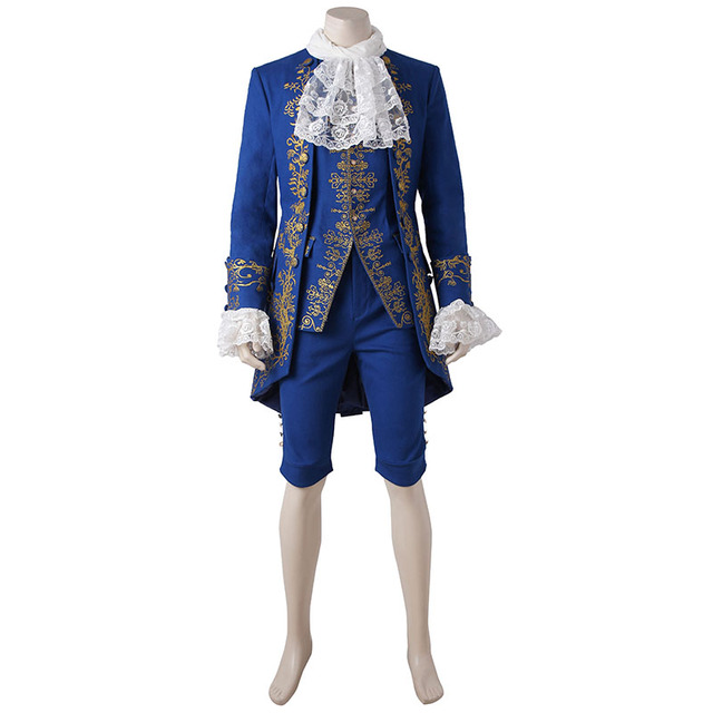 Beauty And The Beast Costume Prince Cosplay Adam 2017