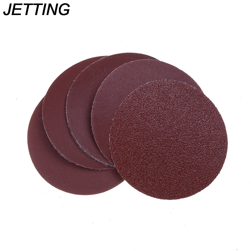 JETTING 10pcs 3inch(75mm) Sander Disc Sanding Polishing Pad Sandpaper Durable And Practical Abrasive Tools