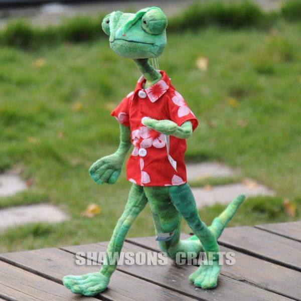 rango movie character plush stuffed toy lizard doll 24