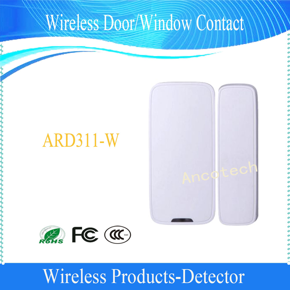 Free Shipping DAHUA Wireless Door/Window Contact Magnet Entry Detector Sensor Without Logo (ARD311-W)