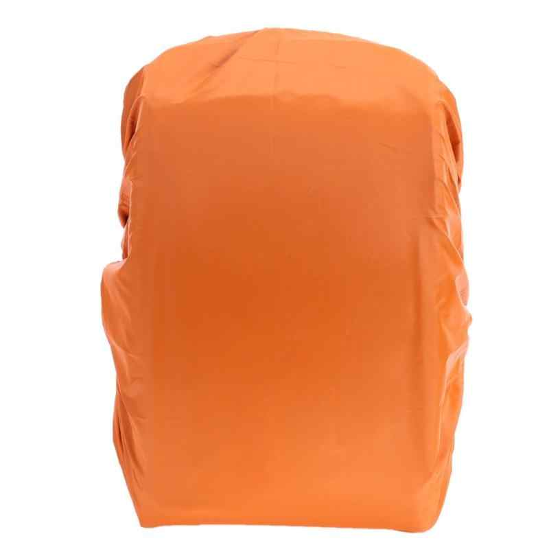 1 PC Nilon Rain Cover 35L Camping Hiking Outdoor Tas Ransel Tahan Air Hujan Debu Penutup Perjalanan Kit Ransel Protector 5 warna