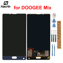 DOOGEE Mezclar Pantalla LCD Con Pantalla Táctil Digitalizador Asamblea Reemplazo Para DOOGEE Teléfono Móvil de La Mezcla 5.5 inch + Herramientas