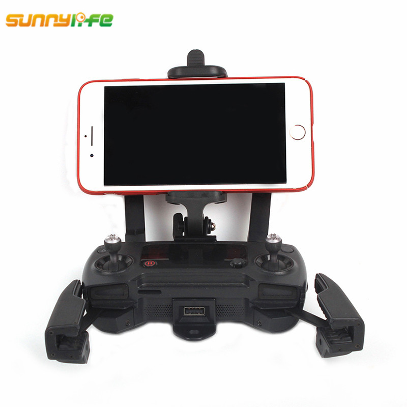 Sunnylife Spark DJI font b Mavic b font Air Front Monitor Holder 50 85mm Phone Clamp
