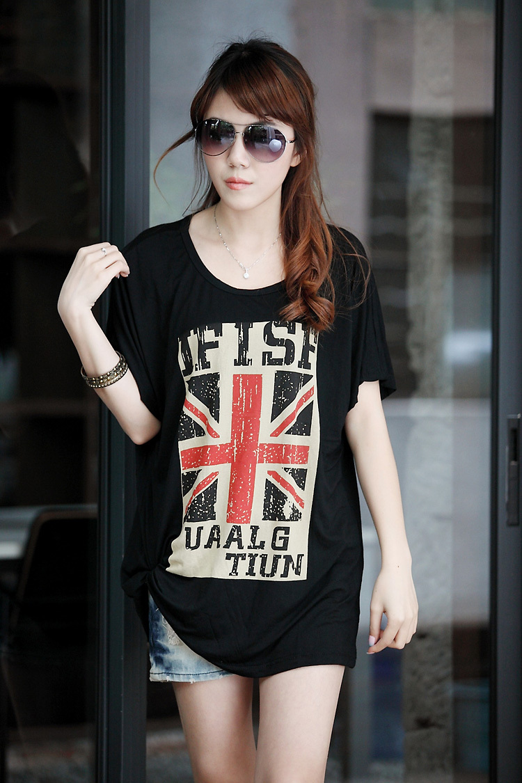 Black flag t shirt uk - Aliexpress Com Buy 2016 New Summer T Shirt For Women Plus Size Uk Flag British Printed Short Sleeve T Shirt Top Woman Tunic Black White 3xxxl 4xl From