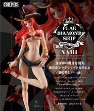 25cm One Piece Sexy Nami Pirates of the Caribbean Action figure