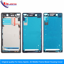 Original quality For Sony Xperia Z2 L50W D6503 Middle Frame Bezel Housing Cover free shipping !