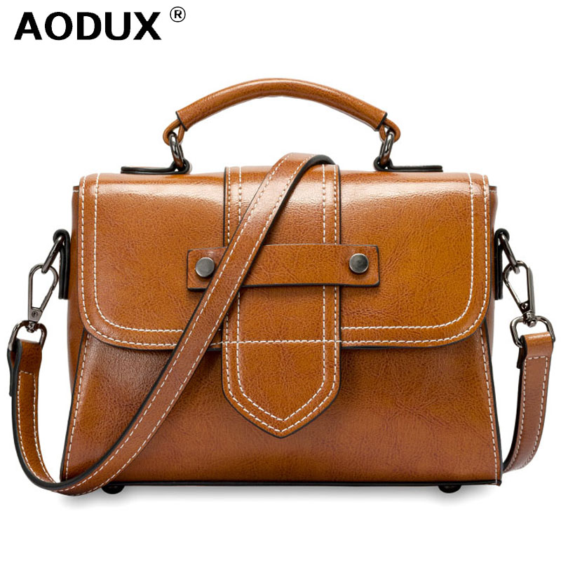 2019 Classic Genuine Oil Wax Leather Summer Women Tote Girl Elegant Handbags Cowhide Female Crossbody Messenger Casual Bags2019 Classic Genuine Oil Wax Leather Summer Women Tote Girl Elegant Handbags Cowhide Female Crossbody Messenger Casual Bags